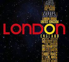 London Typography by saycheese14