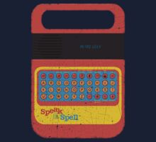 Vintage Look Speak & Spell Retro Geek Gadget Kids Clothes