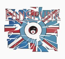 Fangpunk Union Jack MOD UK T Shirt by Fangpunk