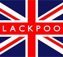 Blackpool UK Flag		 by FlagCity
