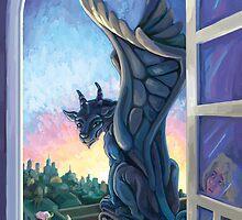 Gargoyle Guardian by Traci VanWagoner