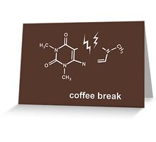 Coffee Break! Greeting Card