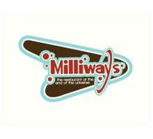Milliways: the Restaurant at the End of the Universe Art Print