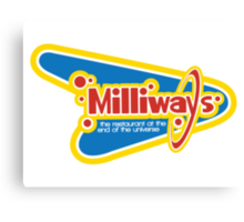 Milliways: the Restaurant at the End of the Universe Canvas Print