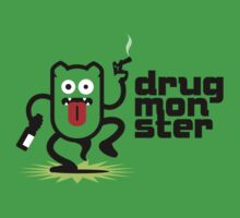 Drug Monster + Font No.1 by hardwear