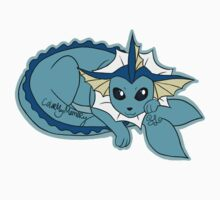 Vaporeon by ColorMyMemory
