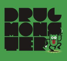 Drug Monster + Font No.2 by hardwear