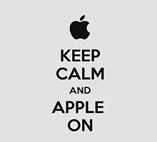 Keep Calm and Apple On - iPhone Case by TheTubbyLife