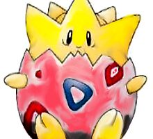 Togepi,  by linwatchorn