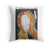 N - Girls Are Great! Throw Pillow