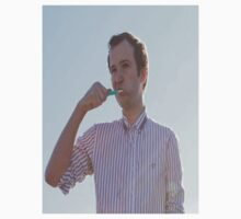 Chris Baio brushing his teeth by Peachypar