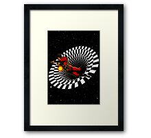 Black Hole Buck Framed Print