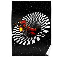 Black Hole Buck Poster