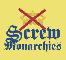 Screw Monarchies-Corona Extra by Oscar Wong