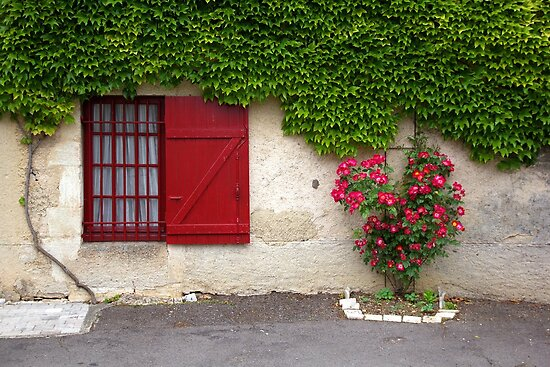 Red Window by CreativeUrge