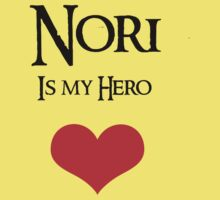 Nori is my Hero by Andesharnais