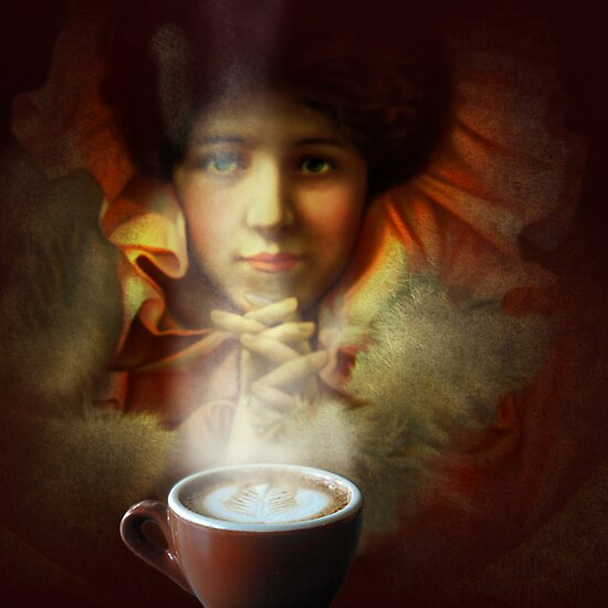 Even a picture can smell good coffee by Jeff Burgess