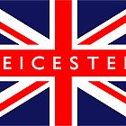Leicester UK Flag	 by FlagCity