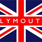 Plymouth UK Flag	 by FlagCity