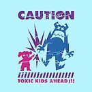 Caution... Kids! IPad by loku