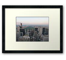 Central Park, New York Framed Print