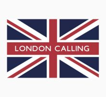 London Calling UK Flag by FlagCity