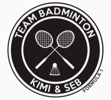 Kimi & Seb - Team Badminton (black) by Tom Clancy