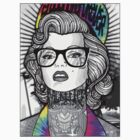 Tie Die Hipster Monroe by STAY YOUNG FOREVER By Alex Harris