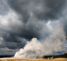 OLd Faithful Explodes by Bryan Shane
