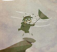 one windy day by busyokoy