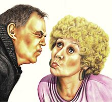 Strong Characters of Coronation Street : Jack and Vera by Margaret Sanderson