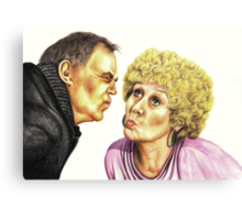 Strong Characters of Coronation Street : Jack and Vera Canvas Print