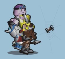 The Viking Bunnies - Señor Spider Kids Clothes