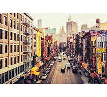 Chinatown - New York City Photographic Print