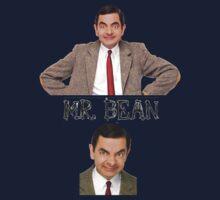 Mr. Bean - The Faces Kids Clothes