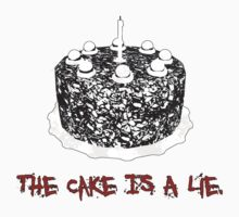 The Cake Is A Lie by Geoman7