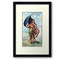 For Liberty, Civilization, and Humanity -- WWI Framed Print