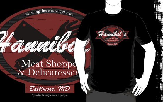 Hannibal's Meat Shoppe & Delicatessen by Isabelle M