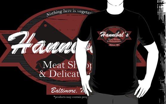 Hannibal's Meat Shoppe & Delicatessen by Isabelle M