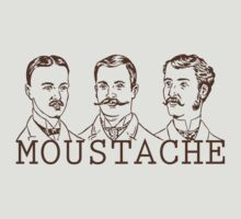 Moustache Men by taudalpoi