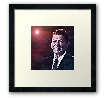 President Ronald Reagan Framed Print