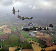 Spitfire sweep by Gary Eason + Flight Artworks