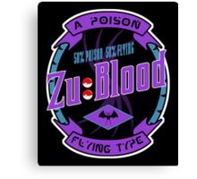 Zu Blood Canvas Print