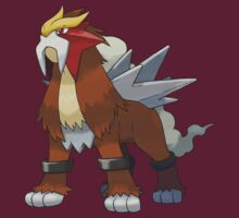 Entei by Stephen Dwyer