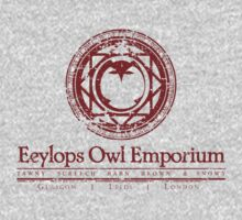 Eeylops Owl Emporium in Red by adamgamm