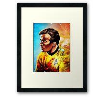 Starship Captain Framed Print
