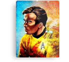 Starship Captain Metal Print