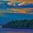 USA. Maine. Acadia National Park. Sunset. by vadim19