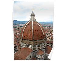 Il Duomo Cathedral Florence Poster