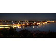 South Perth at night Photographic Print